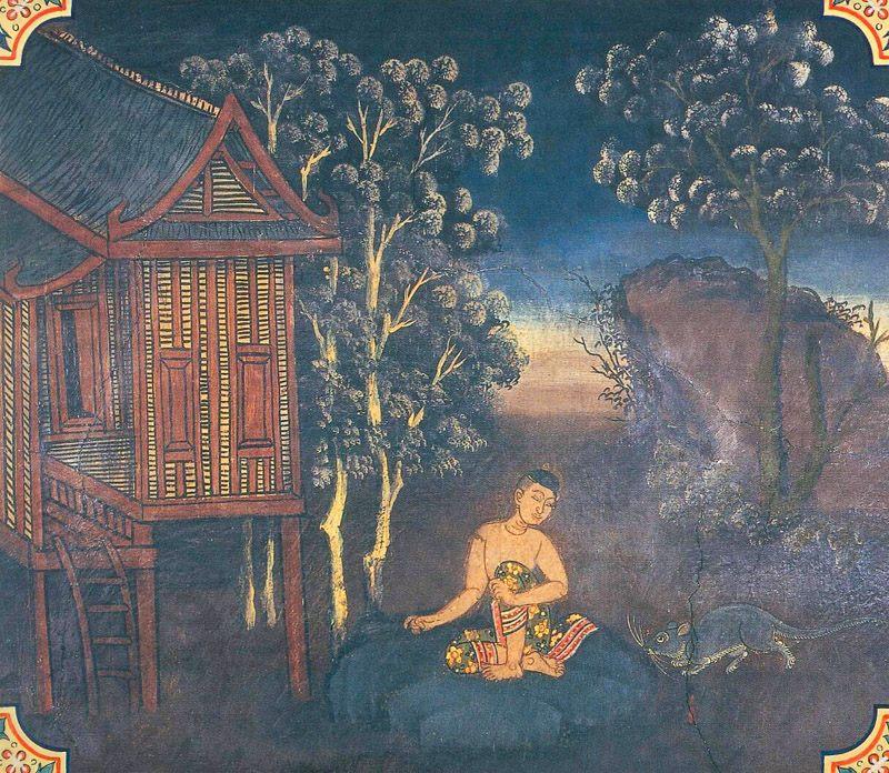 temple painting of Babbu Jataka