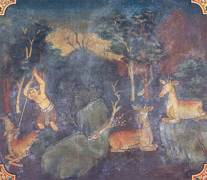 painting of Kharadiya Jataka