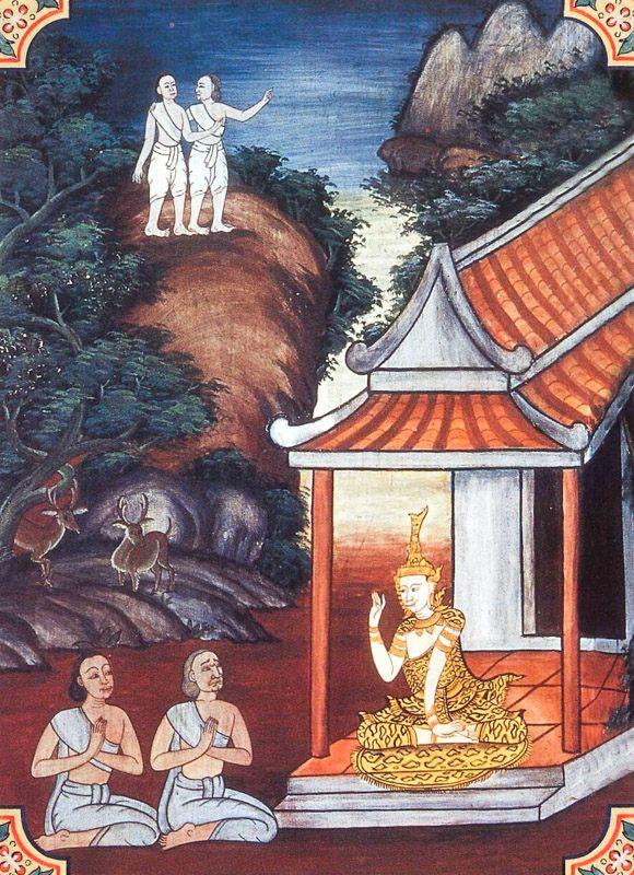 temple painting of Upasalha Jataka