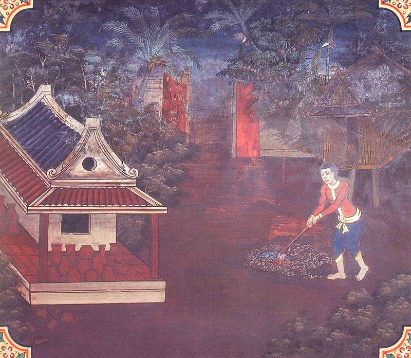 temple painting of Kacchapa Jataka
