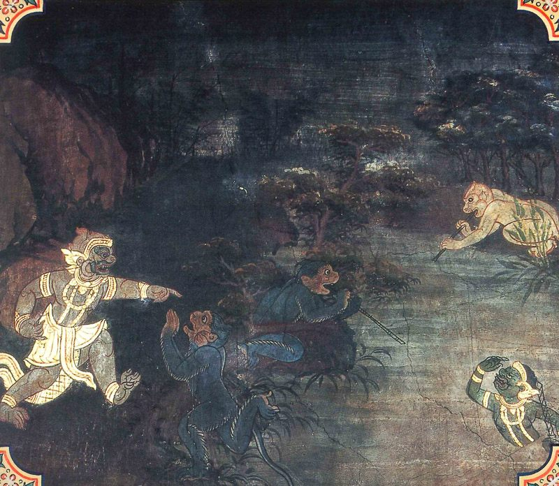 painting of Nalapana Jataka