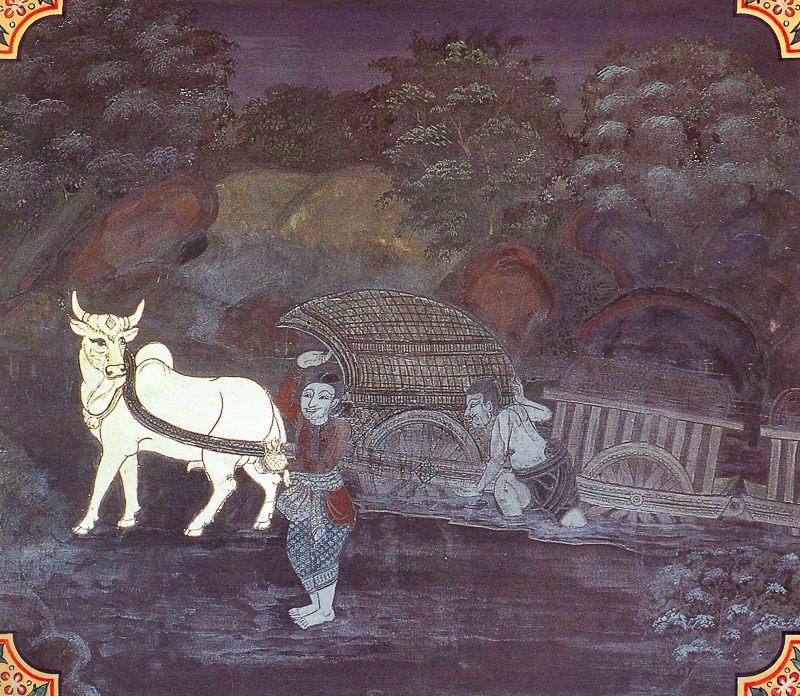 painting of Kanha Jataka