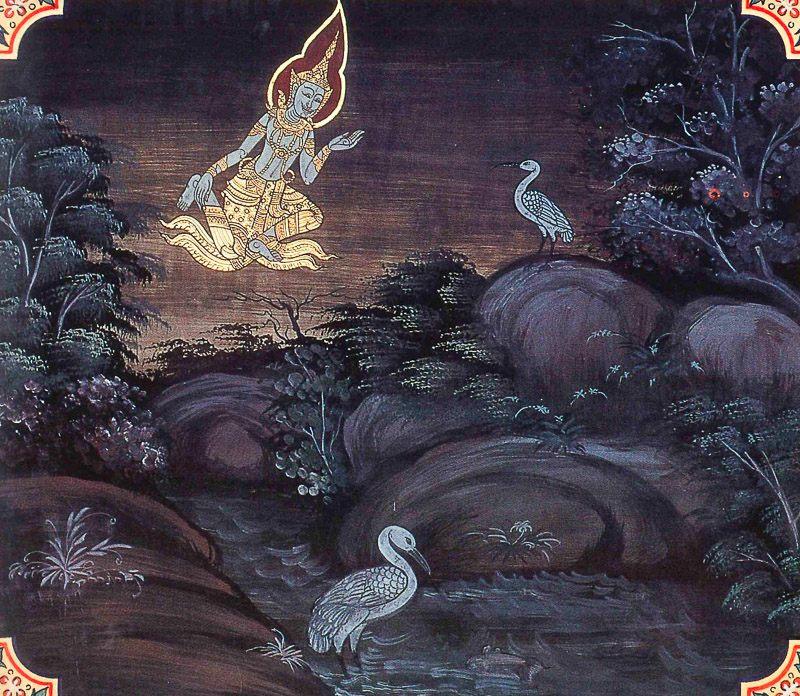 painting of Kulavaka Jataka