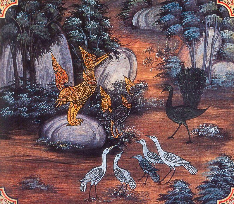 painting of Nacca Jataka
