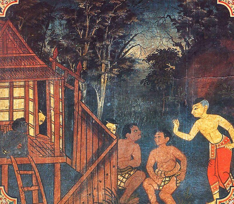 temple painting of Nakkhatta Jataka