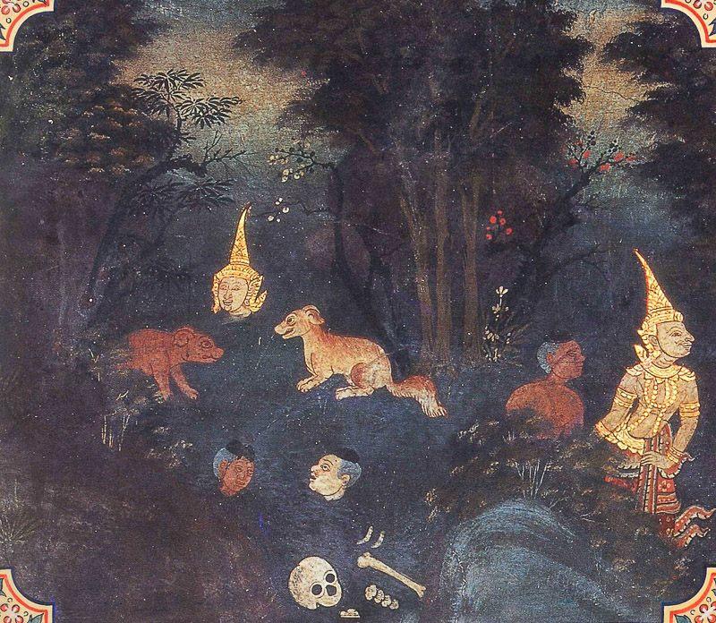 painting of Mahasilava Jataka