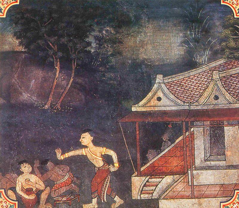 painting of Punnapati Jataka