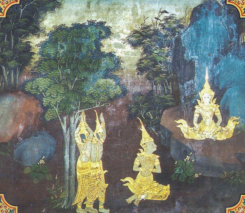 temple painting of Maha-Sutasoma Jataka