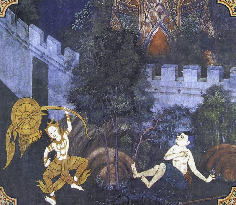 painting of Muga Pakkha Jataka