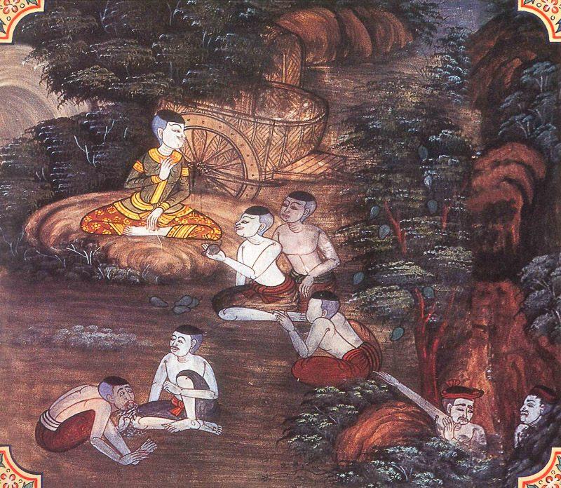 painting of Phala Jataka
