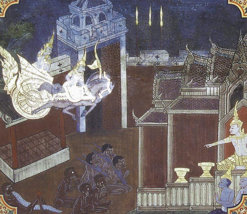 painting of Nimi Jataka