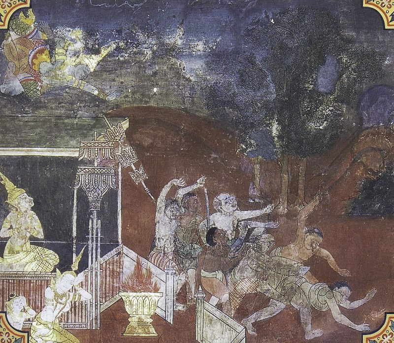 painting of Khandahala Jataka
