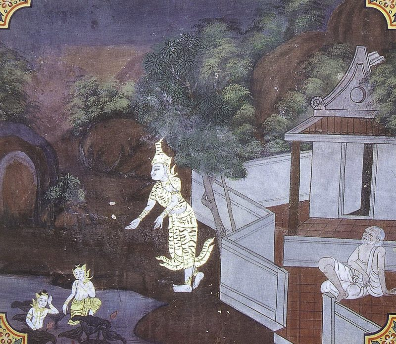 painting of Vessantara Jataka