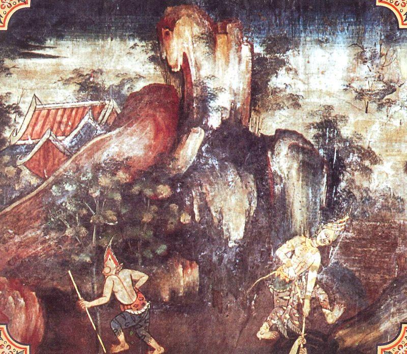 temple painting of Tirita-Vaccha Jataka