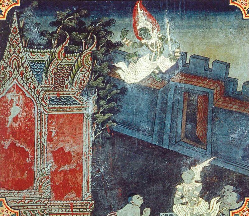 temple painting of Maha-Panada Jataka