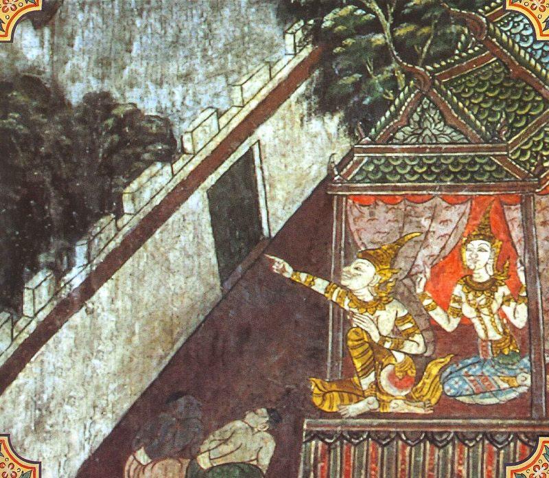 temple painting of Sujata Jataka
