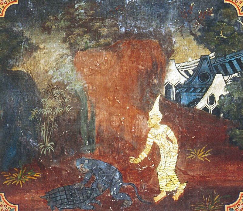 temple painting of Kacchapa Jataka