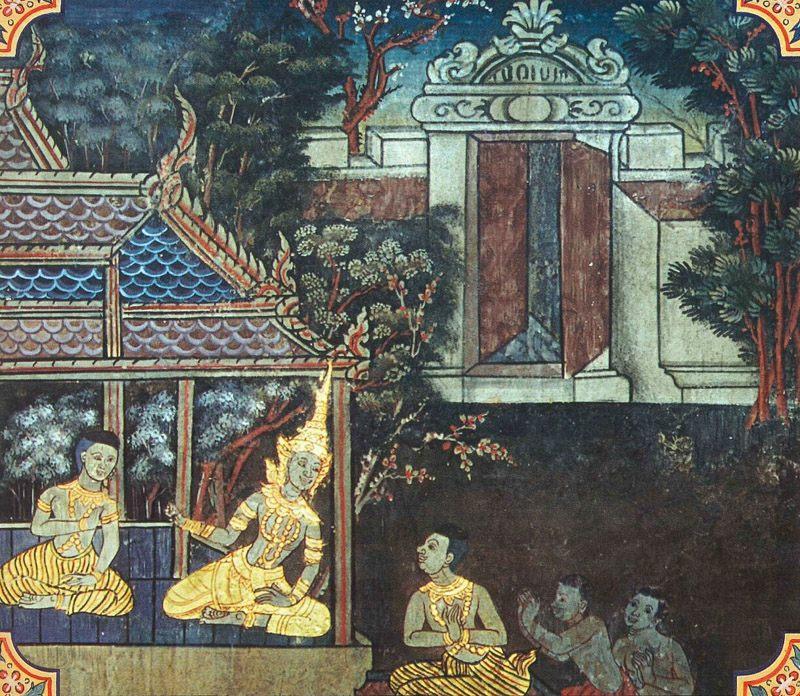 temple painting of Succaja Jataka