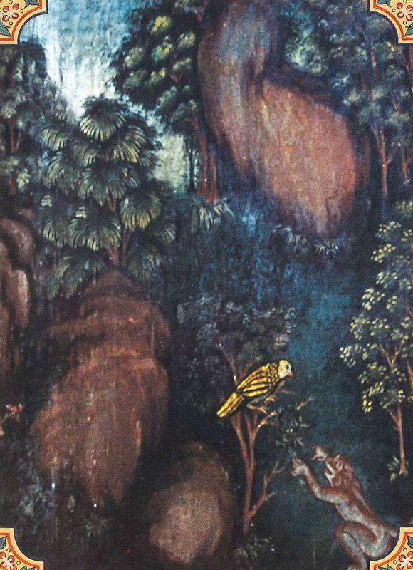 temple painting of Kutidusaka Jataka