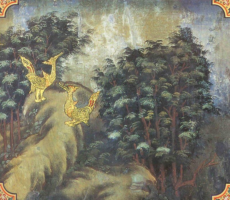 temple painting of Neru Jataka