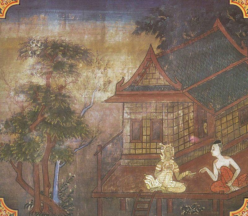 temple painting of Suci Jataka