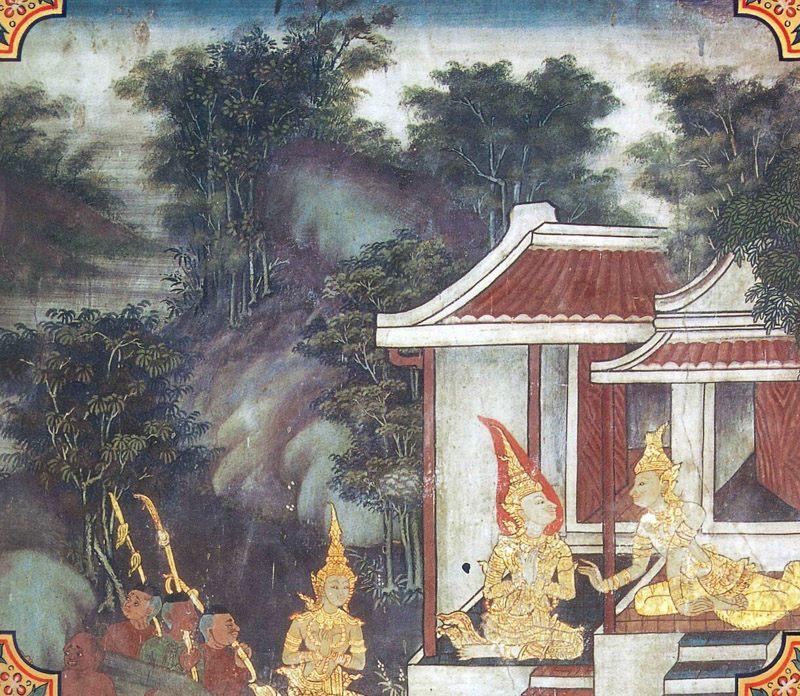temple painting of Culla-Bodhi Jataka