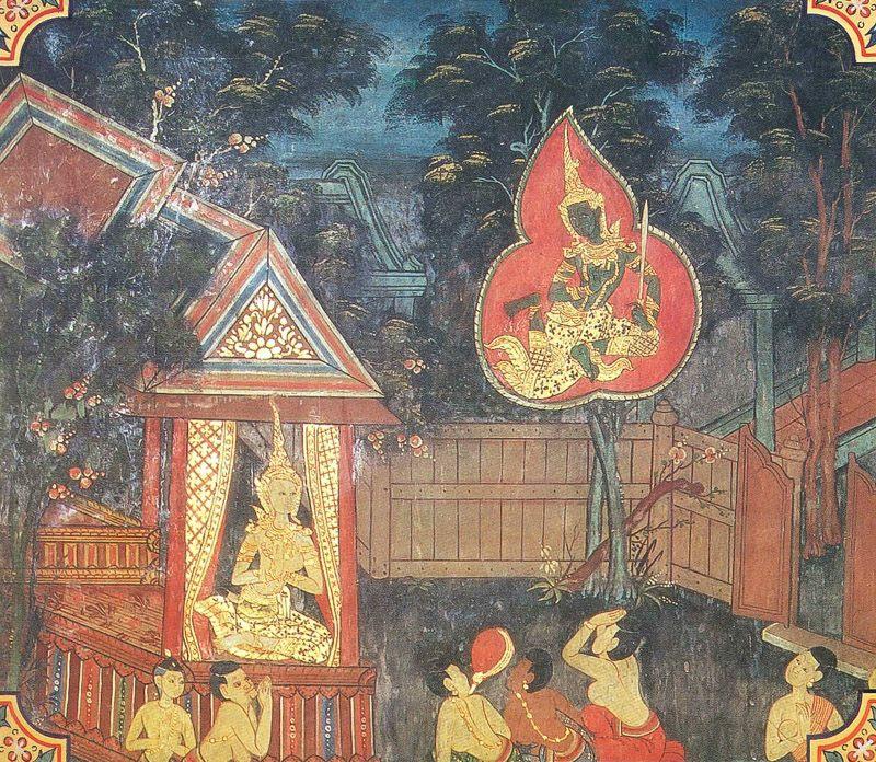temple painting of Udaya Jataka