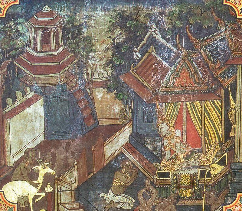 temple painting of Ruru Jataka