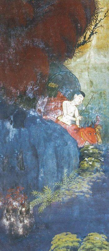 temple painting of Maha-Vanija Jataka