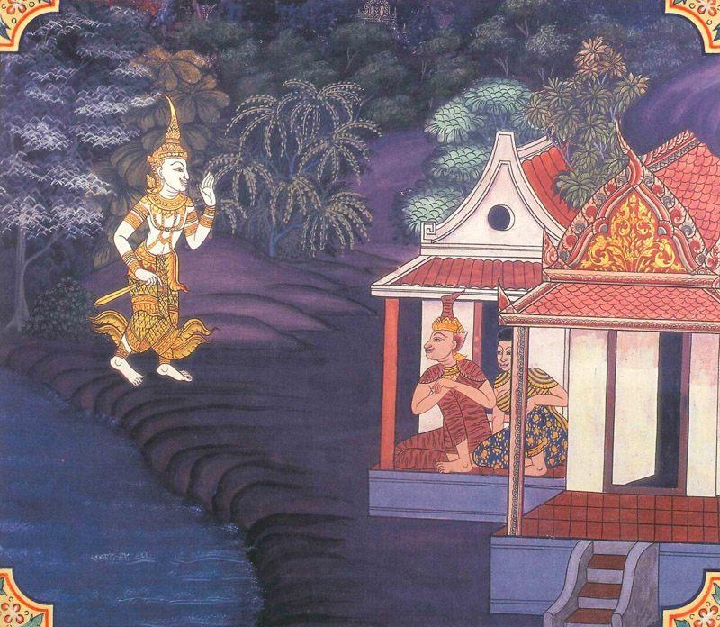 temple painting of Matanga Jataka