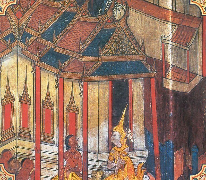 temple painting of Citta-Sambhuta Jataka