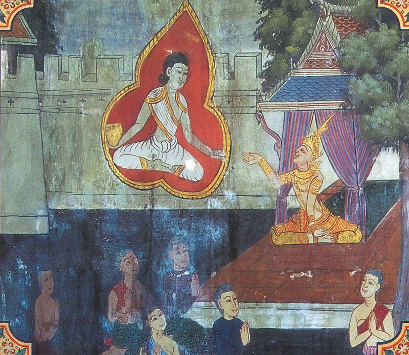 temple painting of Kumbha Jataka