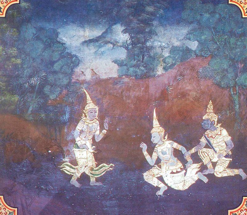 temple painting of Jayaddisa Jataka