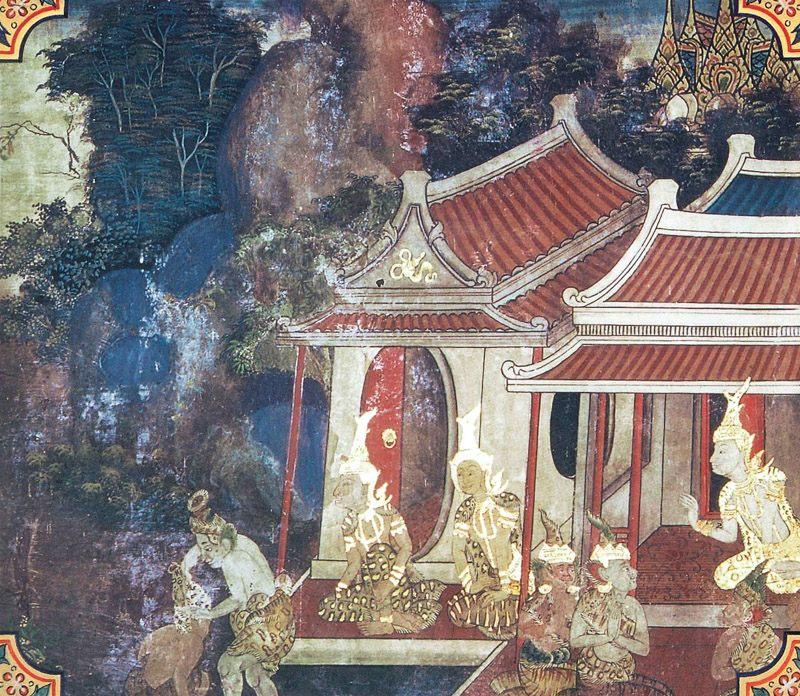 temple painting of Culla-Sutasoma Jataka