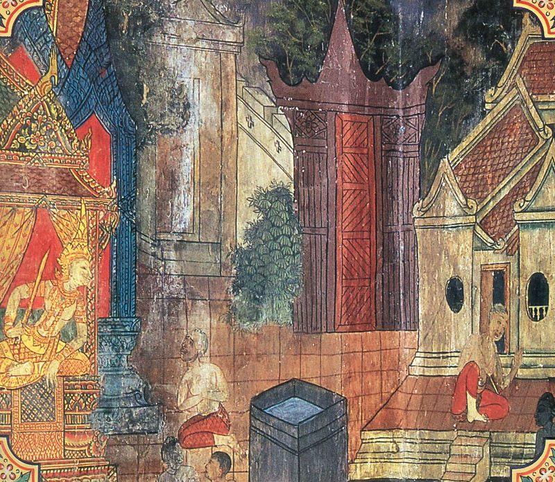 temple painting of Mahabodhi Jataka